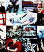 KEEP CALM AND ACHTUNG  BABY - Personalised Poster A4 size