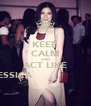 KEEP CALM AND ACT LIKE JESSICA                       - Personalised Poster A4 size