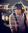 KEEP CALM AND Adam Sevani - Personalised Poster A4 size