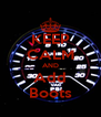 KEEP CALM AND Add Boots - Personalised Poster A4 size