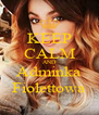 KEEP CALM AND Adminka Fiolettowa - Personalised Poster A4 size