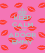 KEEP CALM AND ADOOR EMMY - Personalised Poster A4 size