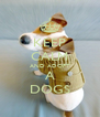 KEEP CALM AND ADOPT A DOGS - Personalised Poster A4 size
