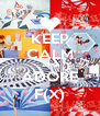 KEEP CALM AND ADORE F(X) - Personalised Poster A4 size