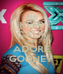 KEEP CALM AND ADORE GODNEY - Personalised Poster A4 size