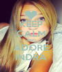 KEEP CALM AND ADORE INDRA - Personalised Poster A4 size