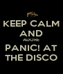 KEEP CALM AND ADORE PANIC! AT THE DISCO - Personalised Poster A4 size