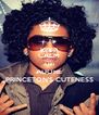KEEP CALM AND ADORE PRINCETON'S CUTENESS - Personalised Poster A4 size