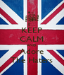 KEEP CALM AND Adore The Haters - Personalised Poster A4 size