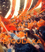 KEEP CALM AND AH ESCULAXA - Personalised Poster A4 size