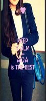 KEEP CALM AND AIDA is THE BEST - Personalised Poster A4 size