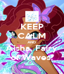 KEEP CALM AND Aisha, Fairy of Waves! - Personalised Poster A4 size