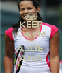 KEEP CALM AND AJDE  ANA - Personalised Poster A4 size