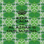 KEEP CALM AND AL AZHAR IS OUR SCHOOL - Personalised Poster A4 size