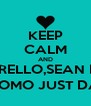 KEEP CALM AND ALBERELLO,SEAN PAUL LIAM,UOMO JUST DANCE 4 - Personalised Poster A4 size