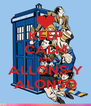 KEEP CALM AND ALLONS-Y ALONSO - Personalised Poster A4 size