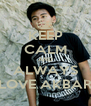 KEEP CALM AND ALWAYS LOVE AKBAR - Personalised Poster A4 size