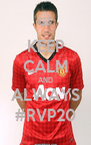 KEEP CALM AND ALWAYS #RVP20 - Personalised Poster A4 size