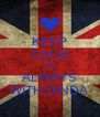 KEEP CALM AND ALWAYS WITH DINDA - Personalised Poster A4 size