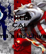 KEEP CALM AND ama a las chivas   - Personalised Poster A4 size