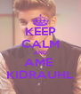 KEEP CALM AND AME  KIDRAUHL - Personalised Poster A4 size