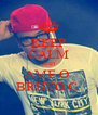 KEEP CALM AND AME O  BRUNO C. - Personalised Poster A4 size