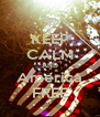 KEEP CALM AND America FREE - Personalised Poster A4 size