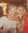 KEEP CALM AND Amo Diley - Personalised Poster A4 size
