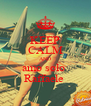 KEEP CALM AND amo solo  Raffaele  - Personalised Poster A4 size
