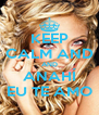 KEEP CALM AND AND ANAHÍ EU TE AMO - Personalised Poster A4 size