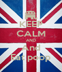 KEEP CALM AND And Eat poop - Personalised Poster A4 size