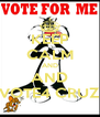 KEEP CALM AND AND VOTE4 CRUZ - Personalised Poster A4 size