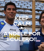 KEEP CALM AND ANDELE POR ¡¡CULERO!! - Personalised Poster A4 size