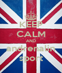 KEEP CALM AND andrenalin sport - Personalised Poster A4 size