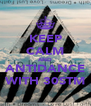 KEEP CALM AND ANTIDANCE WITH 30STM - Personalised Poster A4 size