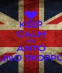 KEEP CALM AND ANTO SEI UN FRATELLINO TROPPO FIGO CAZZ :D - Personalised Poster A4 size