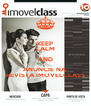 KEEP CALM AND ANUNCIE NA REVISTA IMOVELCLASS - Personalised Poster A4 size