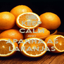 KEEP CALM AND APANHA AS LARANJAS - Personalised Poster A4 size