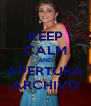 KEEP CALM AND APERTURA ARCHIVO - Personalised Poster A4 size