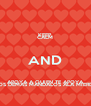 KEEP CALM AND APOYA A QUIEN TE APOYA ALOS DEMAS MANDALOS ALA MIERDA! - Personalised Poster A4 size