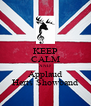 KEEP CALM AND Applaud Herts Showband - Personalised Poster A4 size