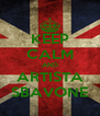 KEEP CALM AND ARTISTA SBAVONE - Personalised Poster A4 size