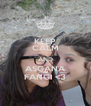 KEEP CALM AND ASGANA FANGI <3 - Personalised Poster A4 size