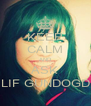 KEEP CALM AND ASK ELIF GUNDOGDU - Personalised Poster A4 size