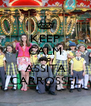 KEEP CALM AND ASSITA CARROSSEL - Personalised Poster A4 size