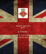 KEEP CALM and ATTEND SHIP'S COY BBQ ON 19TH JULY - Personalised Poster A4 size
