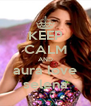 KEEP CALM AND aura love selena - Personalised Poster A4 size