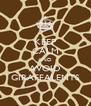 KEEP CALM AND AVOID GIRAFFALENTS - Personalised Poster A4 size