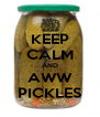 KEEP CALM AND AWW PICKLES - Personalised Poster A4 size