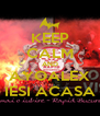 KEEP CALM AND AYOALEX IESI ACASA - Personalised Poster A4 size